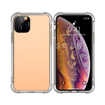 Anti-knock Soft TPU Transparent Clear Phone Case Protect Cover Shockproof Soft Cases For iPhone 12 11 pro max 7 8 plus X XS SE2 image