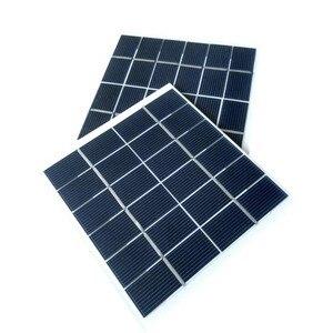Image 2 - 2W 6V Mini güneş paneli pili güç modülü 350mah pil hücresi telefon şarj ışığı DIY güneş oyuncaklar