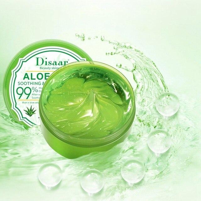 Disaar Aloe Vera Gel After Sun Repair Moisturizing Soothing Acne Cream Hyaluronic Acid Whitening Anti-Aging Gel 1