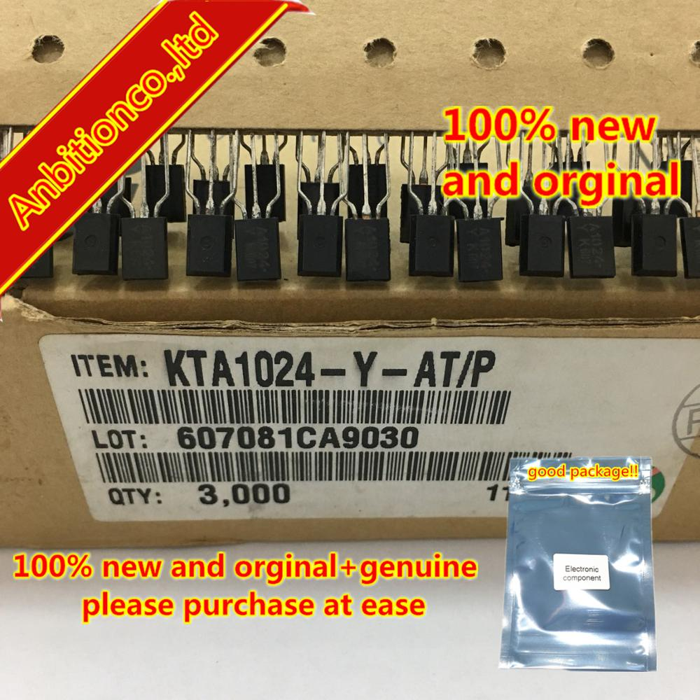 20pcs  100% New And Orginal KTA1024-Y-AT/P A1024Y KTC3205-Y-AT/P C3205Y TO-92L In Stock