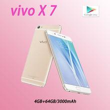 Vivo x7 smartphone completo netcom 4 64gb qualcomm snapdragon 652 5.2 polegadas 1920x1080 pixels telefones celulares