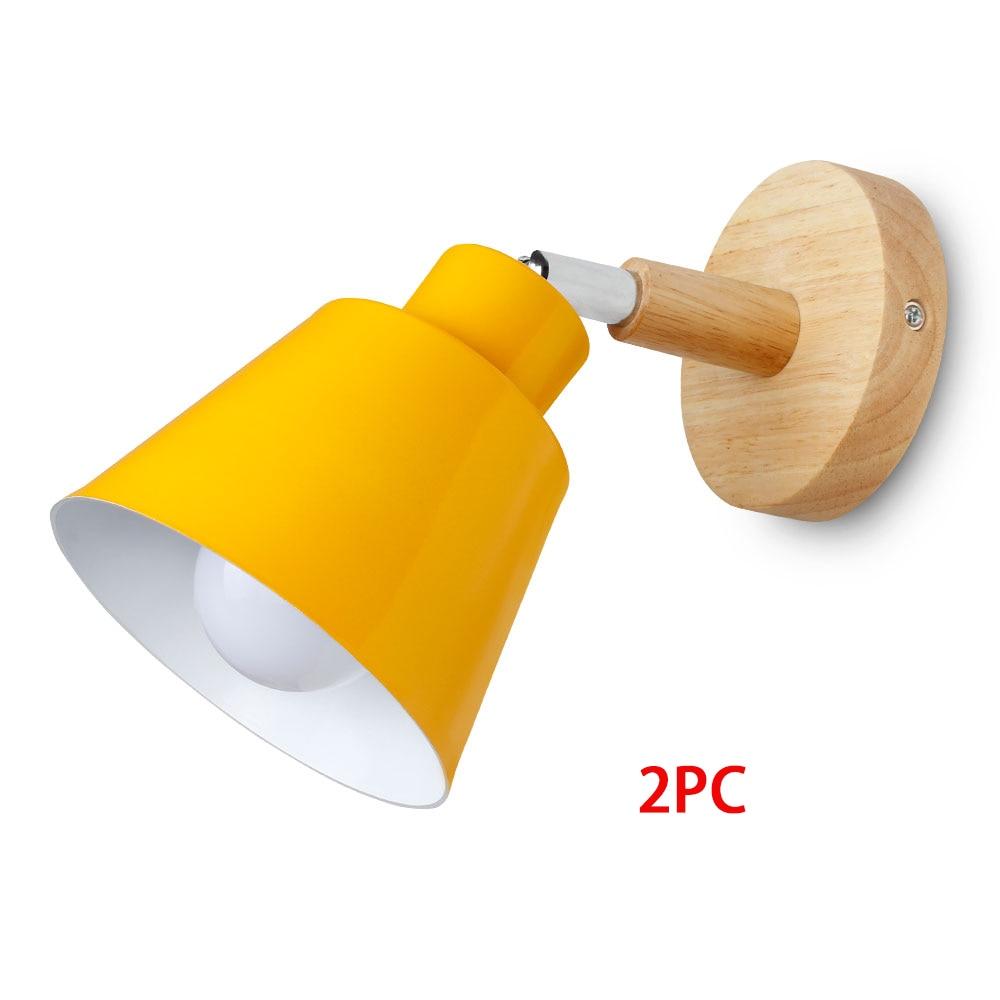Yellow 2pc No Bulb