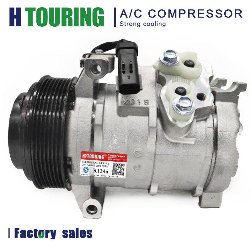 AC Compresor for JEEP commander 3.0 CRD 2005-2010 X175299 55111415AB 55111 415AB 447260-8730 4472608730