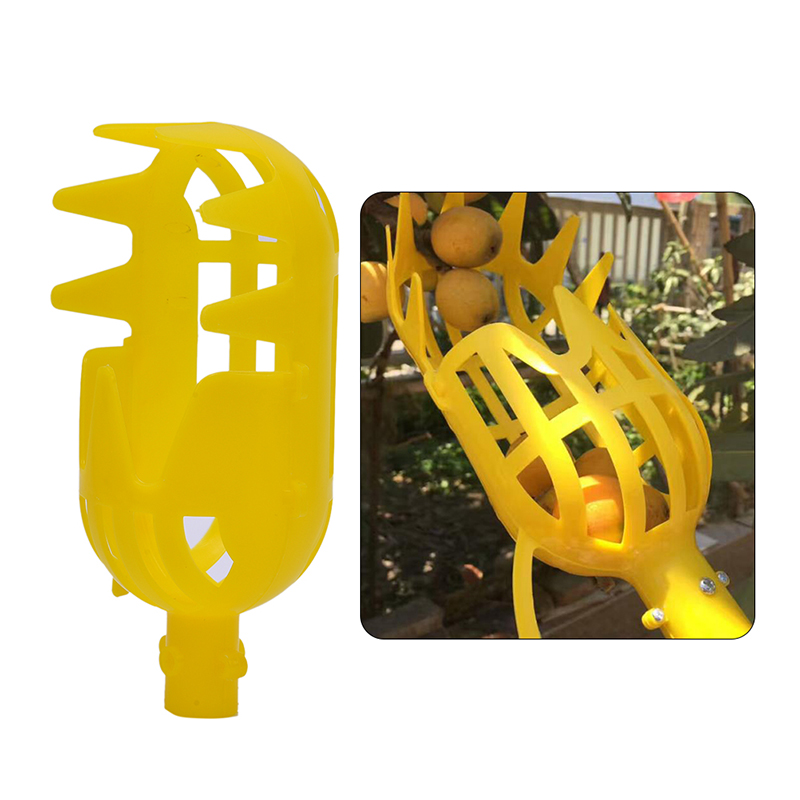 High-altitude Fruit Picker Separate Bayberry Hand Plastic Fruit Picker Catcher Picking Tool Farm Garden Tool Without Handle