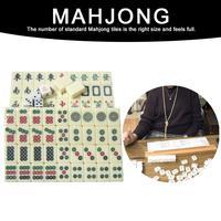 Hot Mini Mahjong Portable Folding Wooden Boxes Majiang Set Table Game Mah jong Travel Travelling Board Game Indoor Entertainment