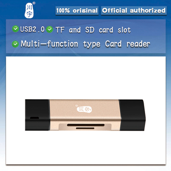 Kawau C256 USB2.0 Multi-function card reader Type-c interface Support mobile phone OTG function Adapter with TF SD card Slot