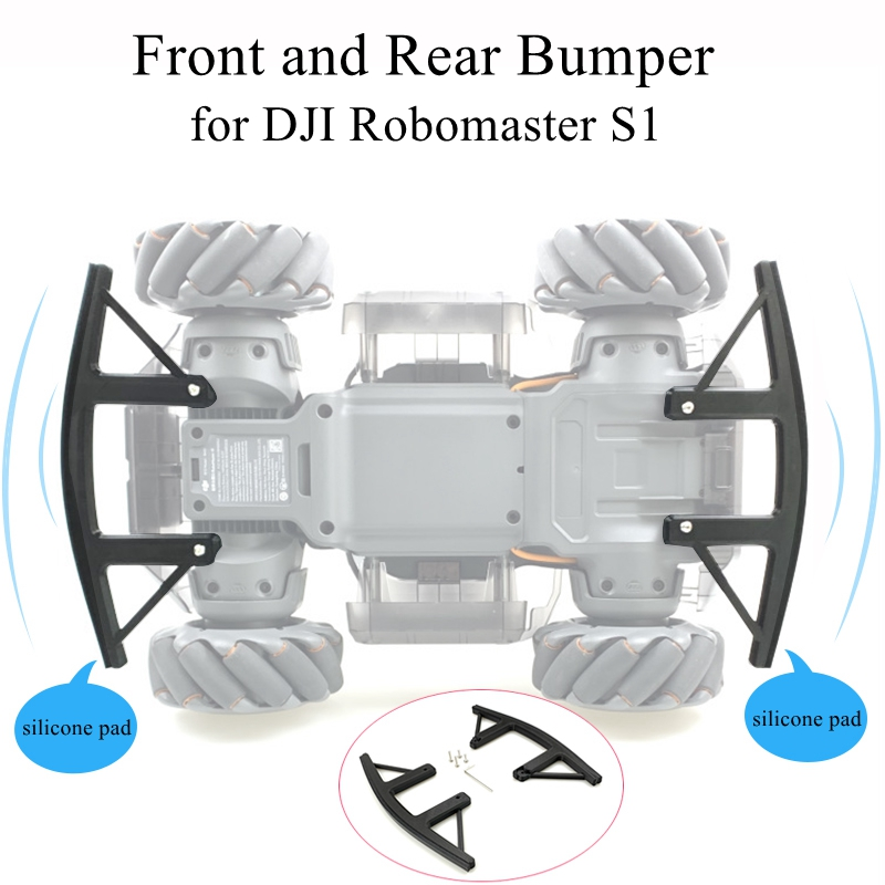 For DJI Robomaster S1 Robot Front Rear Anti-collision Bumper Wheel Protection