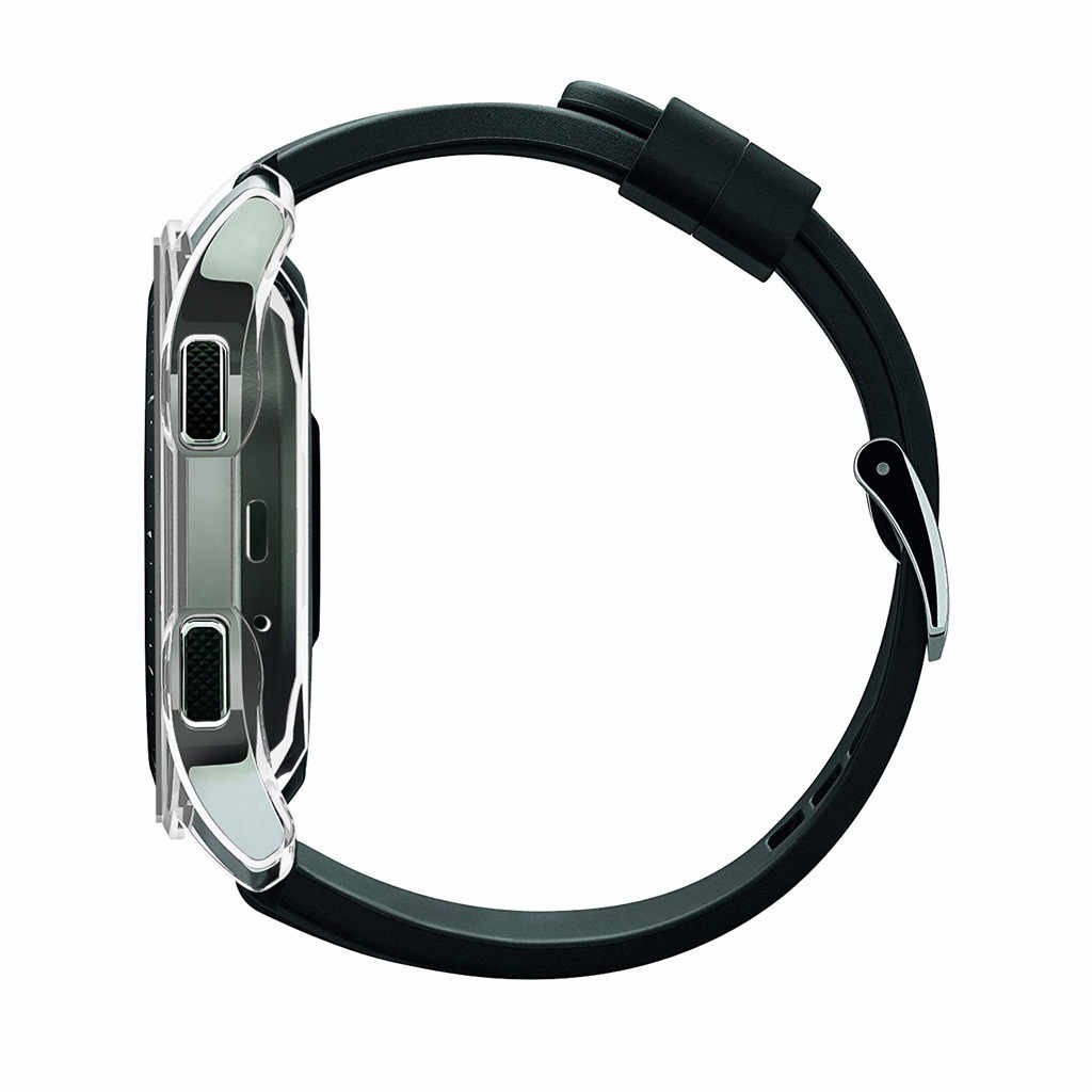 Dunne Pc Bescherming Bumper Horloge Frame Case Cover Voor Samsung Galaxy Horloge Smartwatch Smart Horloges Gevallen Cover Polsband 46 42mm