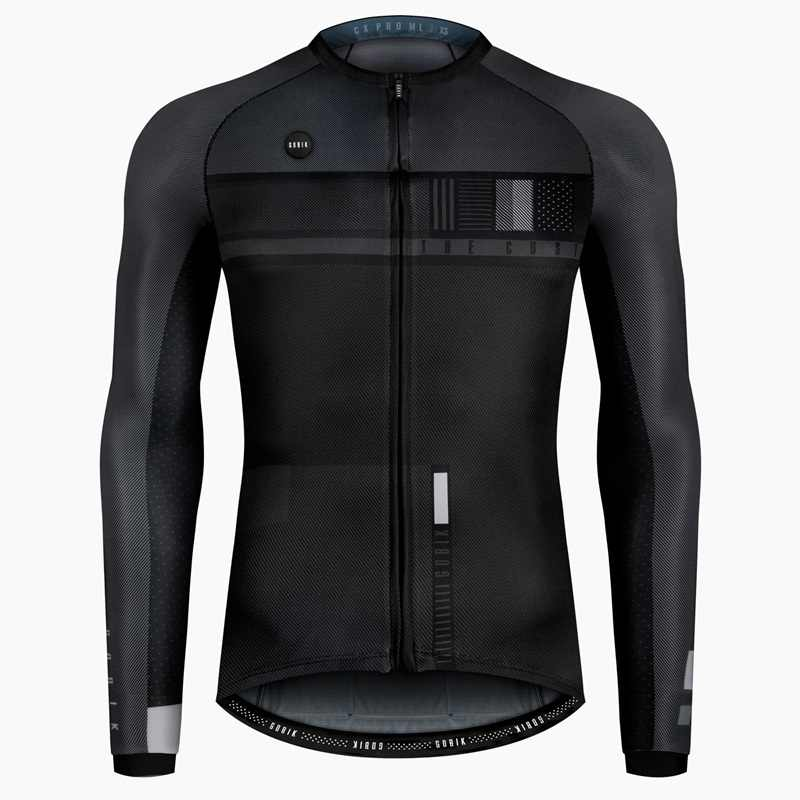 2019 new update long sleeve cycling jersey  for 18 to 30 degree ultralight race and highly breathable cycling jersey bike clothe