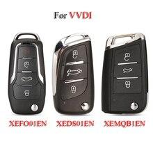 Kutery XEFO01EN/XEDS01EN/XEMQB1EN Smart Car Key For VVDI VVDI2 With XT27 Super Chip Xhorse Series Universal Remote Control