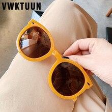 VWKTUUN Sunglasses Women Round Glasses Mens Arrow Rivet Fram