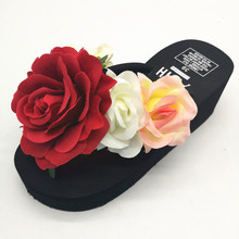 HAHAFLOWER New 2017 women flip flops Beach sandals fashion flower slippers summer women flats shoes woman flat sandals avvvxbw flip flops 2017 summer women s slippers fashion small flower flats sandals female cool slippers beach shoes big size