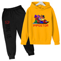 Among Us Sport Suit Boys/Girls Tracksuit Two Piece Set Children Hoodies+Sweatpants Clothes Kids Sets Among Us football training