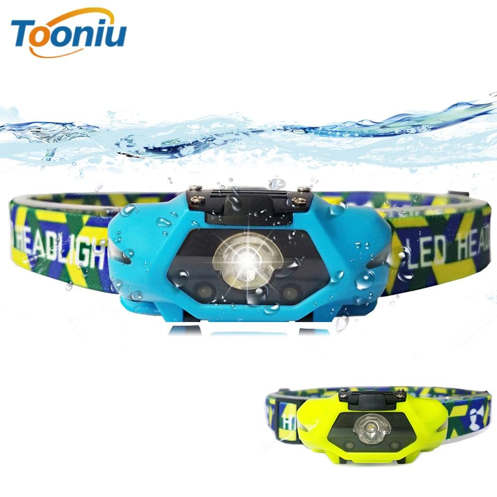 Powerful LED Headlamp LED Running Headlight Use AA Battery Perfect For Fishing Walking Camping Reading Hiking 4 Lighting Modes