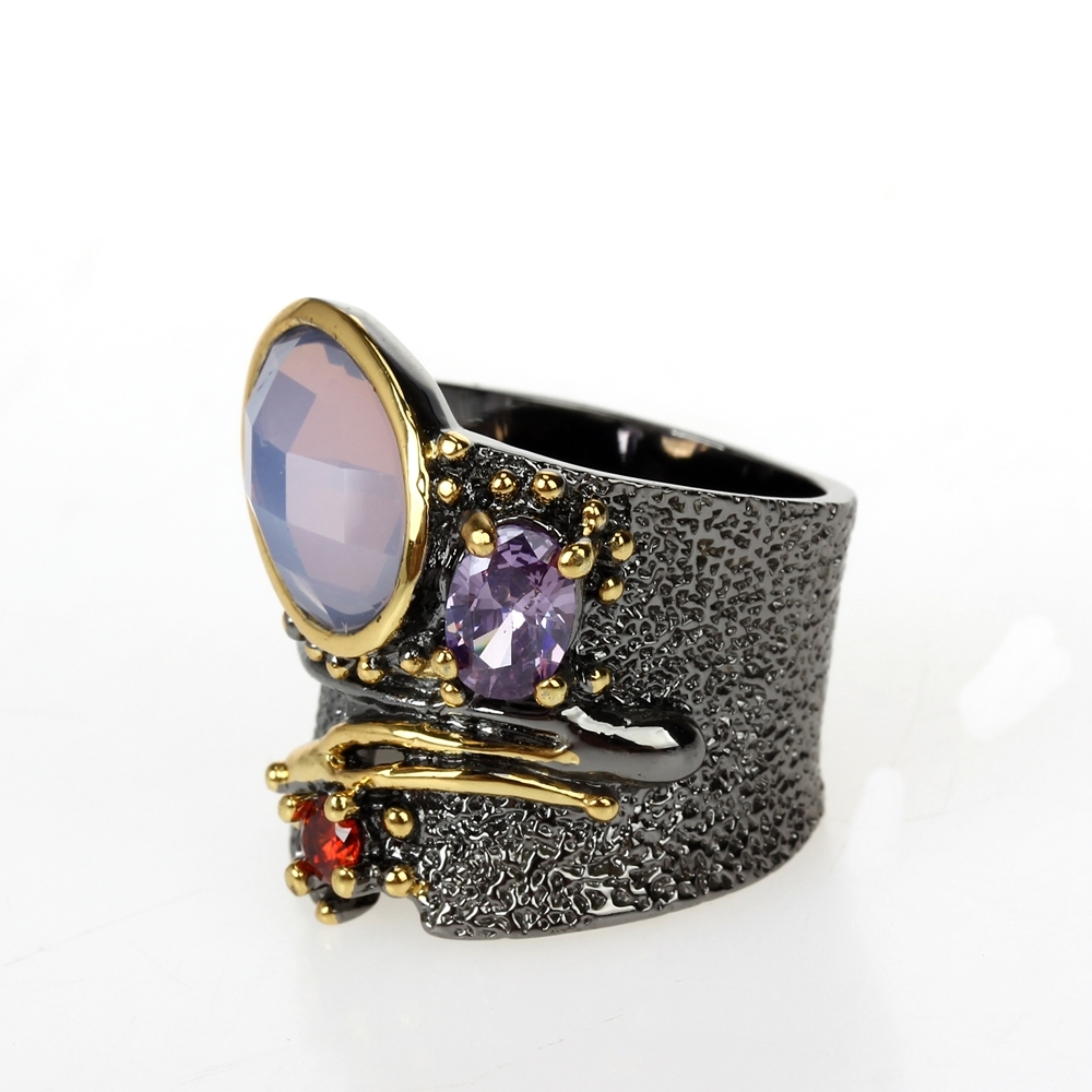 WA11749 DC1989 dreamcarnival1989 Top Brand Gothic Rings women wedding must have (3)