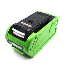Greenworks 40V 3.0Ah 4.0Ah 5.0Ah 6.0Ah G-MAX 24252 2601102 G40LM45 G40LT G40AB G40AC tool battery Lawn mower Li-ion Battery