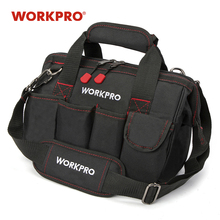 حقيبة أدوات WORKPRO 600D إغلاق واسع الفم حقائب كهربائي S M L XL للاختيار