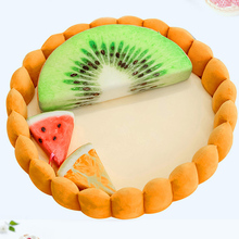 Winter Cat Dog Bed Mat Pet Cushion Plush Kennel Litter Warm Innovative Fruit Egg Tart Nest