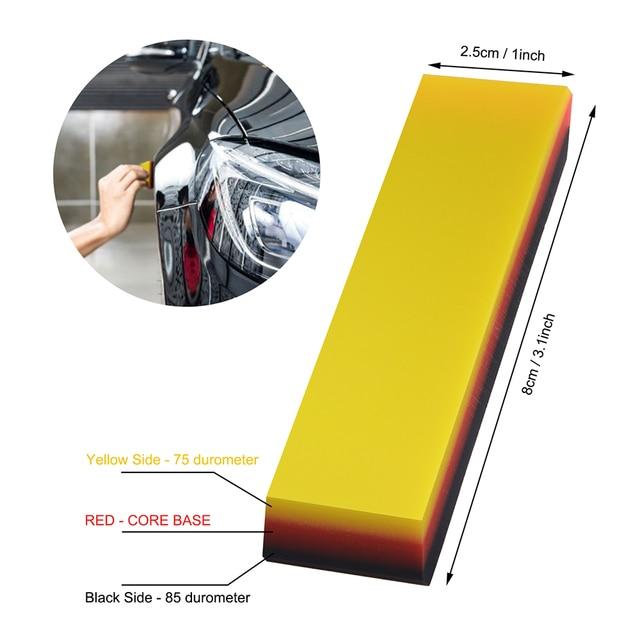 FOSHIO Kit doutils de stylage autocollant | Autocollants de voiture, bâton de raclette magnétique, raclette de fenêtre, teinte de fenêtre, Fiber de carbone, outil daide à la découpe du Film