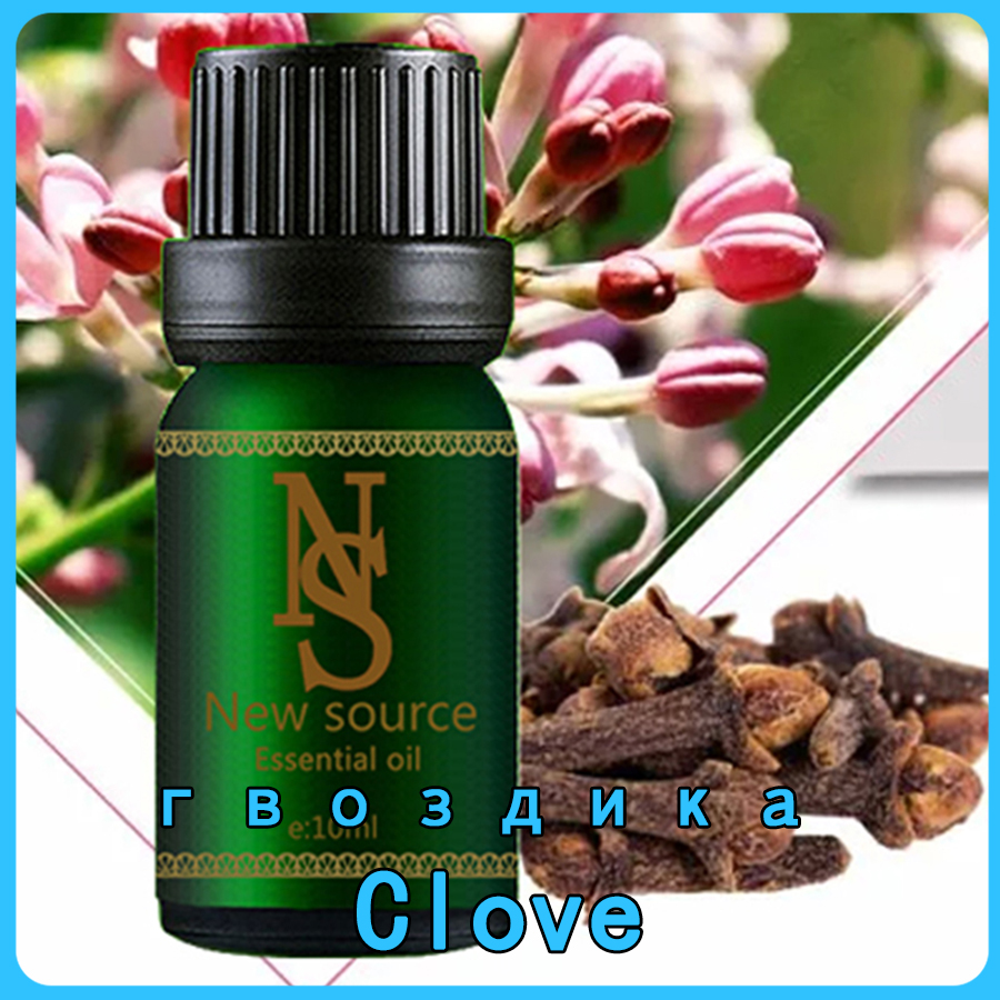 Clove Essential Oil 10ml 100% Pure Plant Promotes Cardiovascular Health,Oral Health Aromatherapy Diffusers Essential Oil