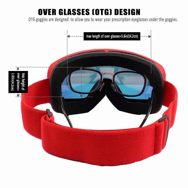 Anti-Fog Ski Goggles 5