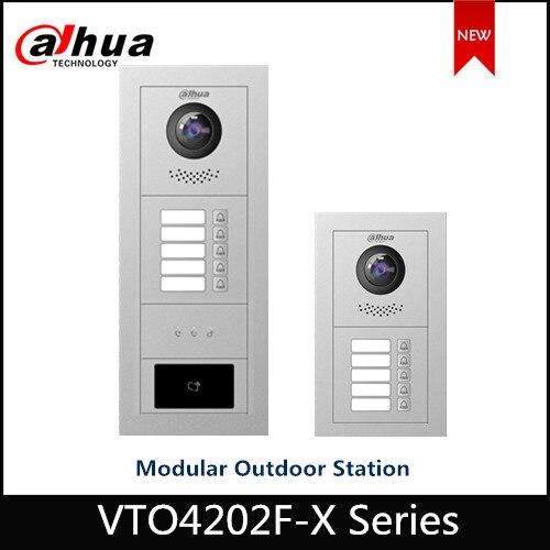 Dahua VTO4202F -X Series Modular Outdoor Station 2MP High Definition Fisheye Camera Voice And Video Access Control