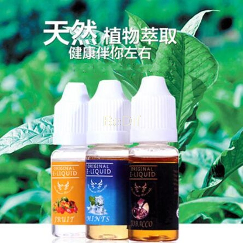 1pcs 10 ML Many Flavored Disposable Original E - Liquid Oil Natural Plant Glycerin Extract Essential Oil