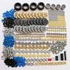 650pcs Bulk Blocks Technic Parts Gears Rack Axle Conectors MOC Car Truck Tires Replace Parts Compatible With Lego Technic Sets