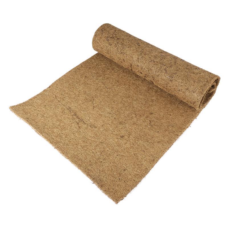 1 Pc Coconut Fiber Mat Thicken Funny Soft Comfortable Liner Mat Reptile Pad Pet Carpet For Iguanas Anoles