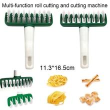 Многофункциональный тестораскатка решетки пластиковый лапша нож лапша нарезчик для пасты мгновенного приготовления кухонные инструменты