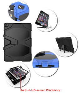 Image 4 - Чехол для iPad 10,2 2019 7 го поколения, водонепроницаемый, ударопрочный, грязеотталкивающий, снежный, песочный, экстремальный армейский, сверхмощный, с подставкой для iPad 10,2