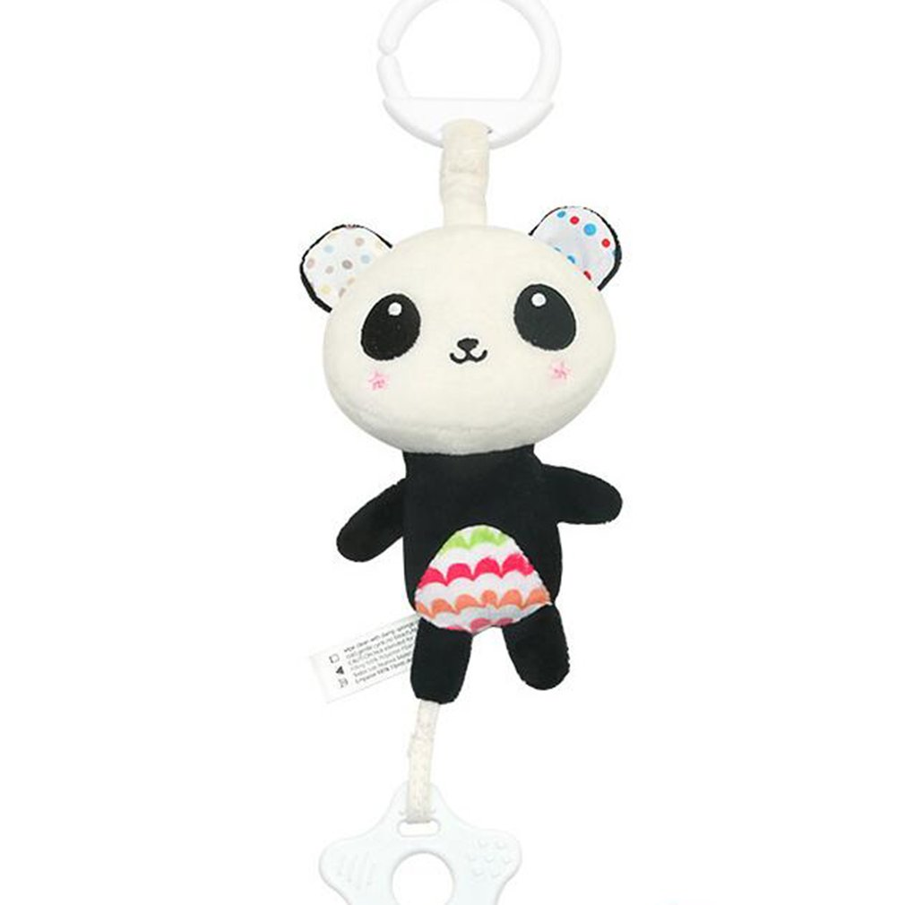 Wind Chime Cute Animal Infant Baby Soft Crib Toy Stroller Hanging Bell Rattles Mobiles For Baby Crib Newborn Children Gift