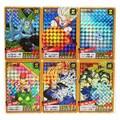 6 teile/satz Super Saiyan Dragon Ball Z No.7 Remake Kampf Heroes Schlacht Karte Ultra Instinct Goku Vegeta Spiel Sammlung Karten