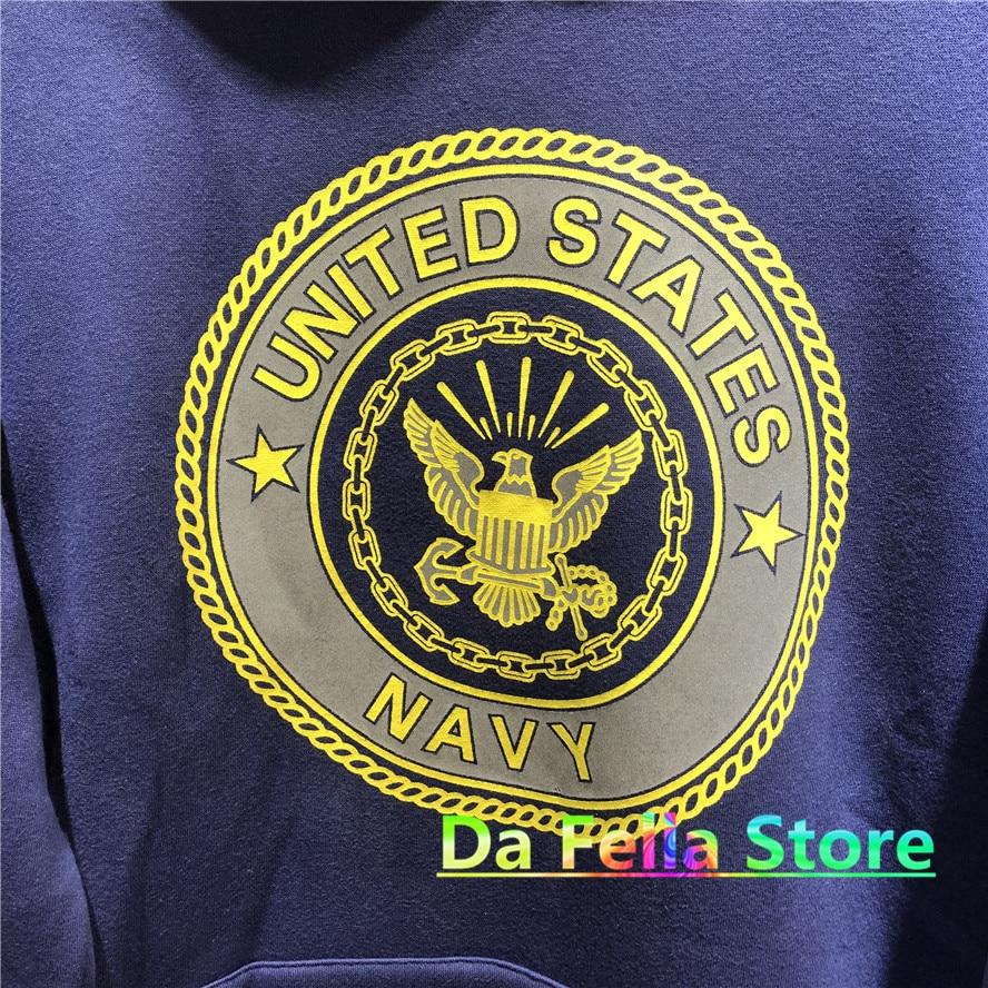 Jesus is king Kanye West United States Navy Reflective Logo Sweatshirts Hoodie  3