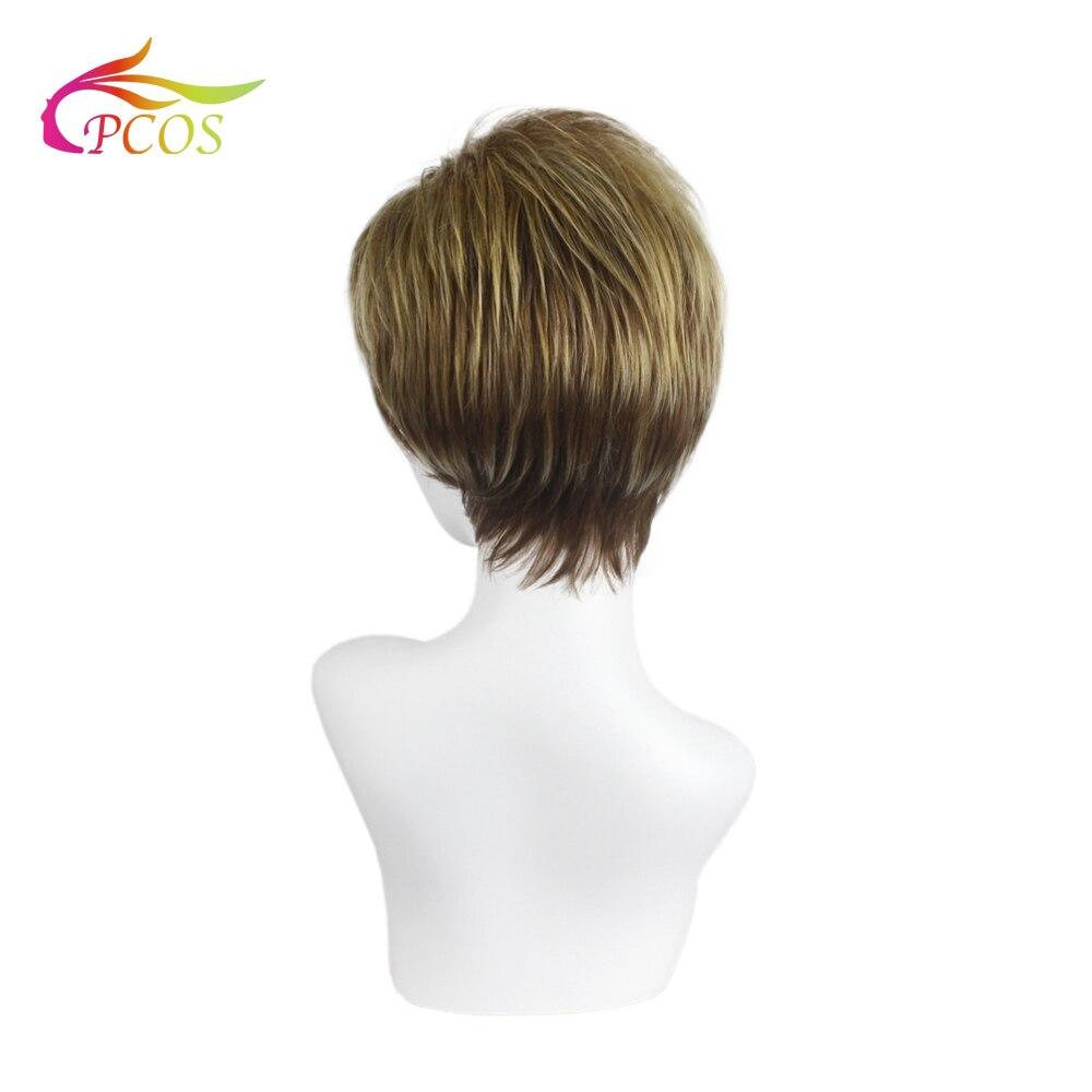 Купить короткий смешанный золотой парик для афроамериканских женщин