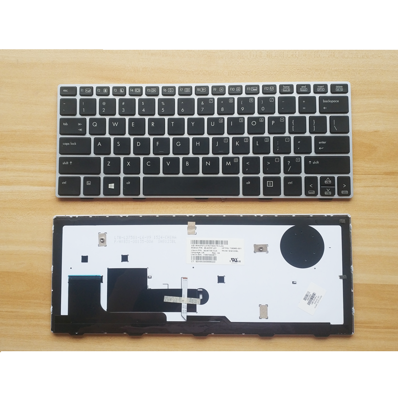 Brand New Original Backlight Laptop Keyboard for <font><b>HP</b></font> EliteBook <font><b>810</b></font> <font><b>G1</b></font> <font><b>810</b></font> G2 Genuine for <font><b>HP</b></font> <font><b>810</b></font> <font><b>G1</b></font> G2 Notebook Keyboard Backlit image