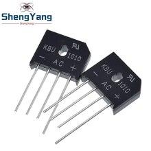 5 قطعة/الوحدة KBU1010 KBU 1010 10A 1000 فولت البريدي ديود جسر المعدل ديود جديد