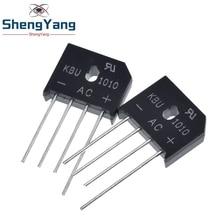 5PCS/LOT KBU1010 KBU 1010 10A 1000V ZIP Diode Bridge Rectifier diode New