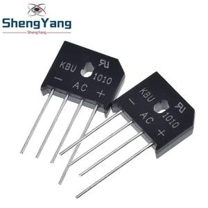 Image 1 - 5PCS/LOT KBU1010 KBU 1010 10A 1000V ZIP Diode Bridge Rectifier diode New