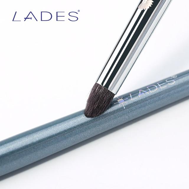 LADES L27 1PCS Blending Makeup Brush Single Eyeshadow Make Up Brushes Animal hair Copper Tube Beauty Tools Natural Goat Hair 6