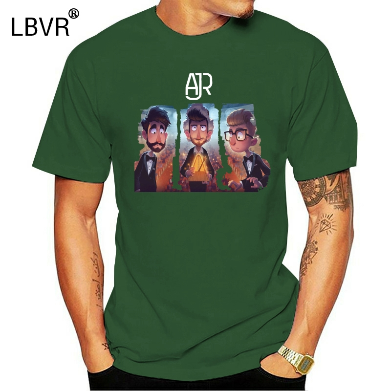 The Click Tour Teen Boys and Girls Classic Short Sleeve T Shirts Classic Fit AJR