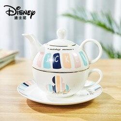 Disney Mickey Cartoon Wasser Wasserkocher Kaffee Milch Tee Frühstück Keramik Wasserkocher Hause Büro Sammlung Geschirr Festival Geschenke