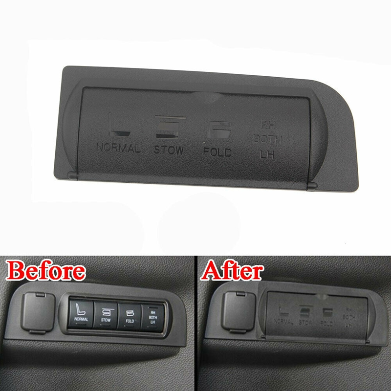Car Rear Trunk Seat Adjust Button Shell Cap Cover Trim For Ford Explorer 2011-2018