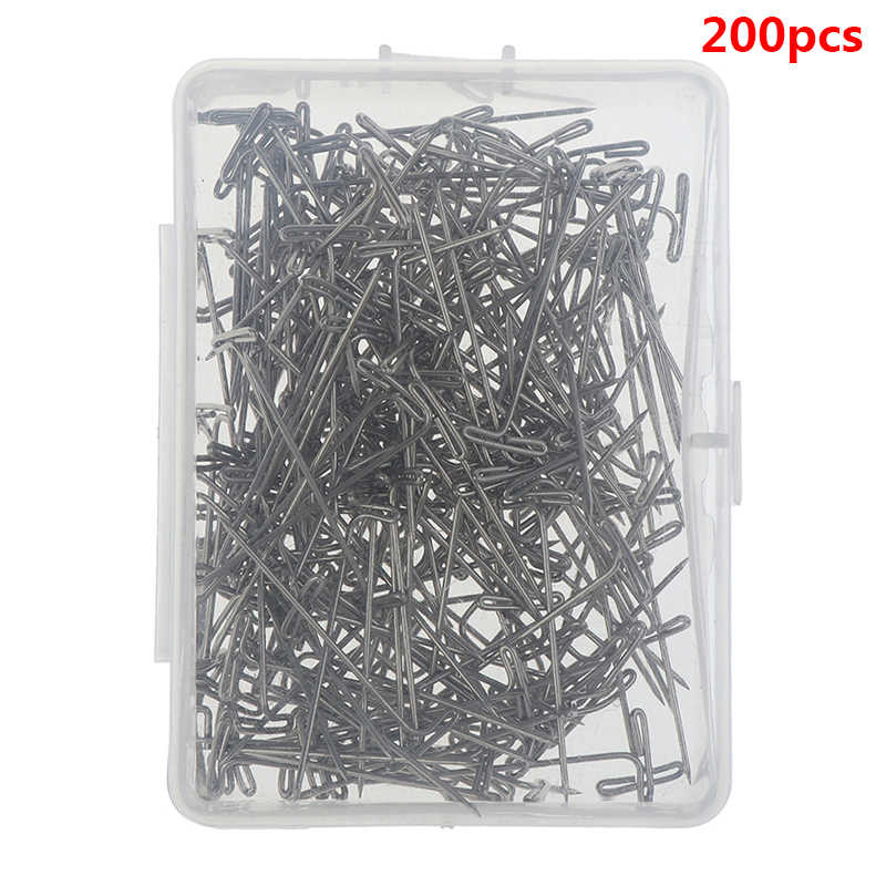 50/100/200pcs Wig T Pins for Holding Wigs Silver 32mm Long T-pins Styling Tools For Wig Display