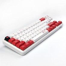 Клавиатура Sega Mario Keycap Cherry оригинальная с 5 клавишами, механическая клавиатура с сублимационной печатью, клавиши 1.75U 2U 2.25U Shift 6.25U Spacebar