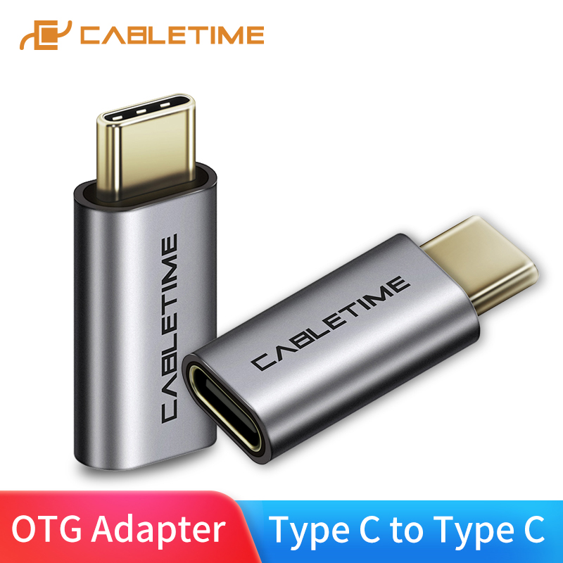 CABLETIME NEW USB OTG Type-C Adapter To 3.0 USB C OTG Thunderbolt 3 USB Type C Adapter Cable For Macbook Pro Samsung S9 C013