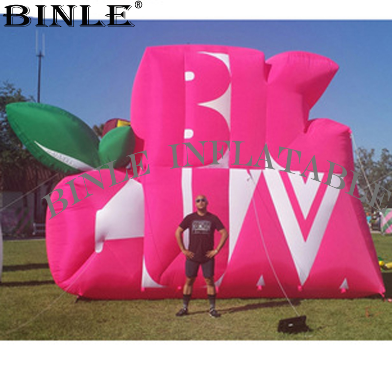 Customized giant <font><b>inflatable</b></font> logo wall advertising <font><b>inflatable</b></font> events signs <font><b>inflatable</b></font> <font><b>billboard</b></font> for sale image