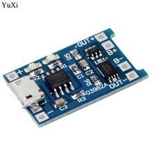 Yuxi 5v micro usb 1a 18650 литиевая батарея зарядная плата с