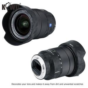Image 4 - アンチスクラッチレンズ保護スキンソニーバリオ Tessar T FE 16 35 ミリメートル F4 ZA OSS SEL1635Z & ALC SH134 レンズフード 3 3m ステッカー