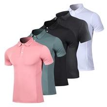 New 2020 summer fashion t shirt male short sleeve turndown collar casual colors t-shirts men's clothing fitness man's T-shirt turndown collar tartan print shirt